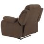 Kép 5/12 - Állítható relaxáló fotel, barna szövet, ASKOY