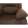 Kép 9/12 - Állítható relaxáló fotel, barna szövet, ASKOY