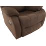 Kép 11/12 - Állítható relaxáló fotel, barna szövet, ASKOY