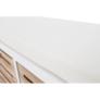 Kép 7/22 - Pad három fiókkal, fehér/mézsárga , TEDRA