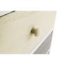 Kép 20/21 - Komód, fehér/színes fiókok, MONET 1