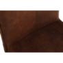 Kép 4/18 - Szék, barna anyag/króm, NADINA