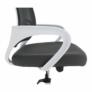 Kép 3/21 - Irodai szék, szürke/fehér, SANAZ TYP 2
