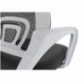Kép 4/21 - Irodai szék, szürke/fehér, SANAZ TYP 2