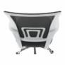 Kép 5/21 - Irodai szék, szürke/fehér, SANAZ TYP 2