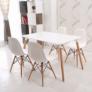 Kép 17/24 - Modern szék, bükk+ fehér, CINKLA 3 NEW