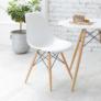 Kép 18/24 - Modern szék, bükk+ fehér, CINKLA 3 NEW