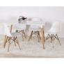 Kép 20/24 - Modern szék, bükk+ fehér, CINKLA 3 NEW