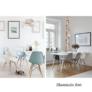 Kép 22/24 - Modern szék, bükk+ fehér, CINKLA 3 NEW