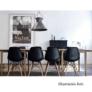 Kép 24/24 - Modern szék, bükk+ fehér, CINKLA 3 NEW