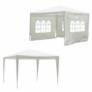 Kép 7/8 - Kerti bulisátor, fehér, 3x3 m, TEKNO TYP 1