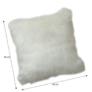Kép 2/2 - Párna, fehér, 45x45, EBONA TYP 1