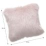 Kép 2/2 - Párna, rózsaszín, 45x45, EBONA TYP 7