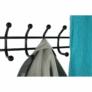 Kép 11/16 - Fogas cipőtartóval, fekete fém, BARNUM