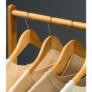 Kép 5/8 - Kerekes akasztó, bambus, 80 cm széles, VIKIR TYP 2