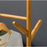 Kép 7/8 - Kerekes akasztó, bambus, 80 cm széles, VIKIR TYP 2