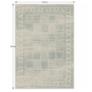 Kép 10/10 - Vintage szőnyeg, szürke, 200x250, ELROND