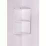Kép 3/5 - Fali sarokszekrény, fehér, ATENE TYP 4